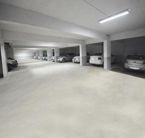 Spacious & secured parking at Hotel Opal, Kolhapur